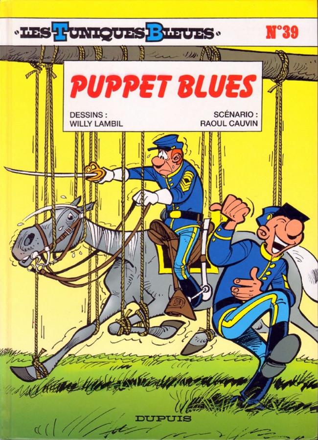 Couverture de Les tuniques Bleues -39- Puppet blues