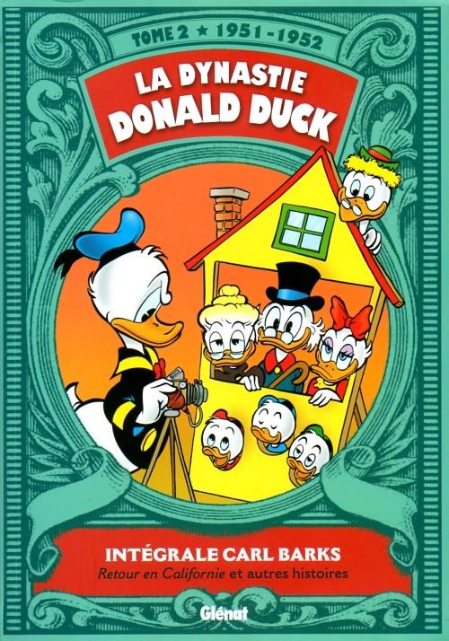 Couverture de La dynastie Donald Duck -2- Retour en Californie et autres histoires