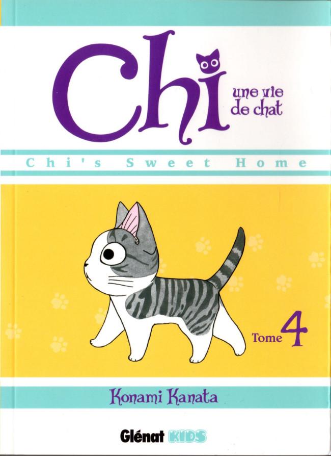 Couverture de Chi - Une vie de chat (format manga) -4- Tome 4