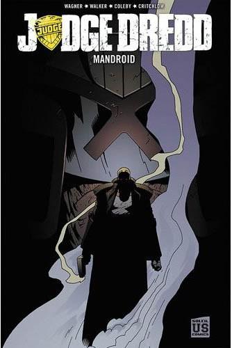 Couverture de Judge Dredd (Soleil) -2- Mandroid