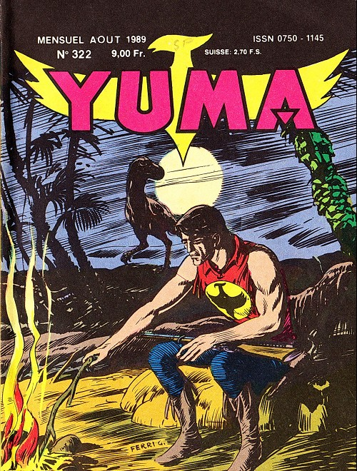 Couverture de Yuma (1re série) -322- Cauchemar