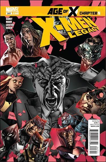 Couverture de X-Men Legacy (2008) -247- Age of X part 5
