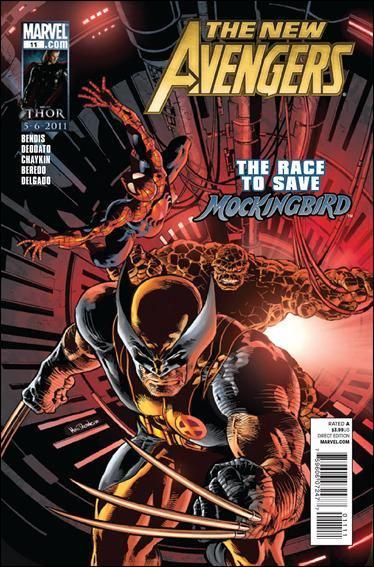 Couverture de New Avengers (The) (2010) -11- New avengers 1959 part 2