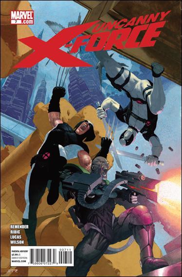 Couverture de Uncanny X-Force (2010) -7- Deathlock nation part 3