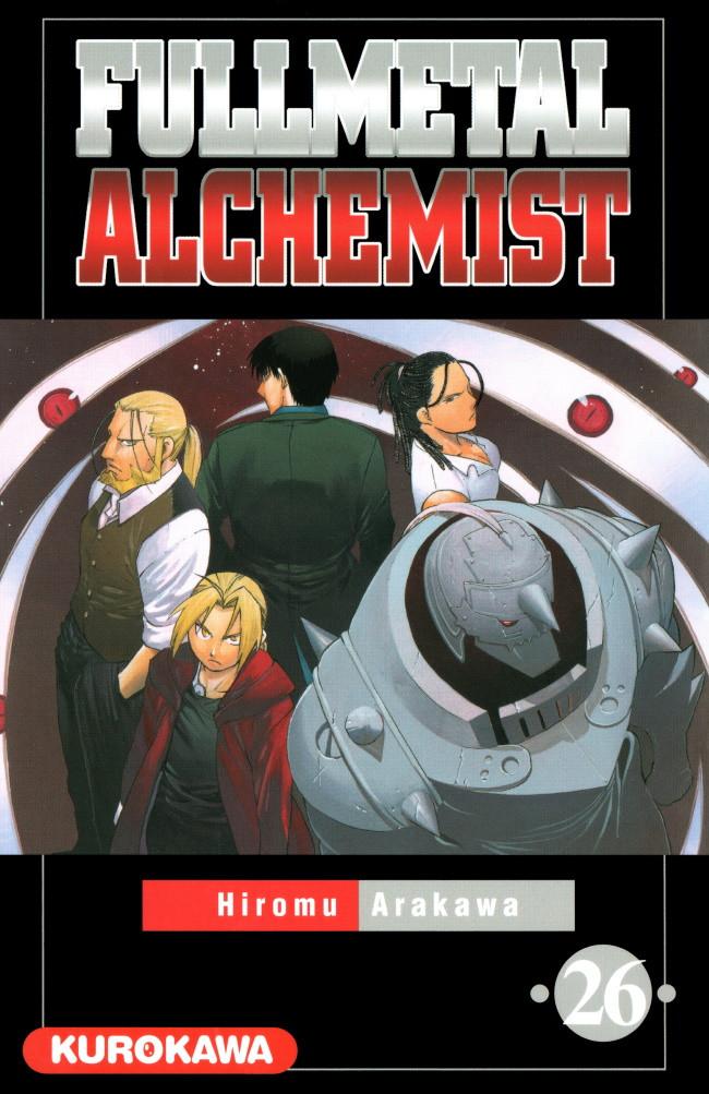 Couverture de FullMetal Alchemist -26- Tome 26