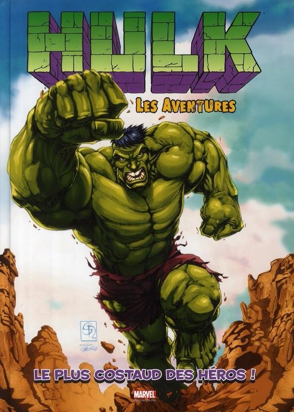 Couverture de Hulk - Les aventures -1- Le plus costaud des héros !