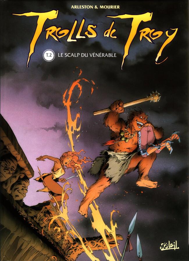 Couverture de Trolls de Troy -2- Le scalp du vénérable