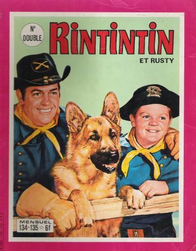 Couverture de Rin Tin Tin & Rusty (2e série) -134/135- Le poste Z