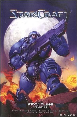 Couverture de StarCraft (Soleil) -1- Frontline Volume 1