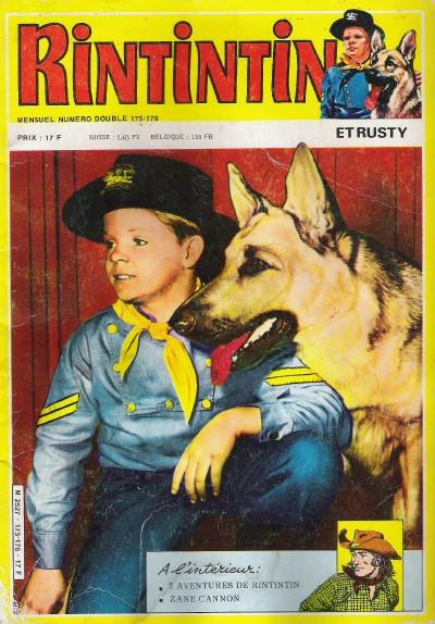 Couverture de Rin Tin Tin & Rusty (2e série) -175/176- Le sortilège