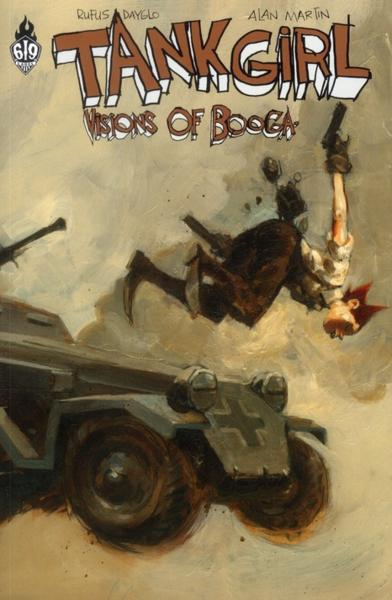 Couverture de Tank Girl -6- Visions of Booga