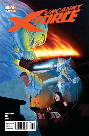 Couverture de Uncanny X-Force (2010) -8- Unintended consequences