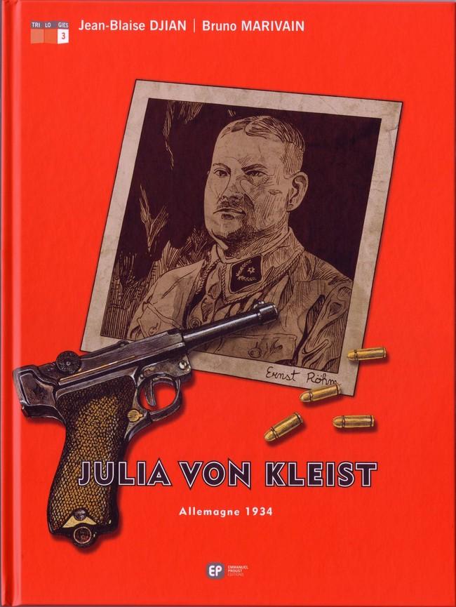 Couverture de Julia von Kleist -3- Allemagne 1934