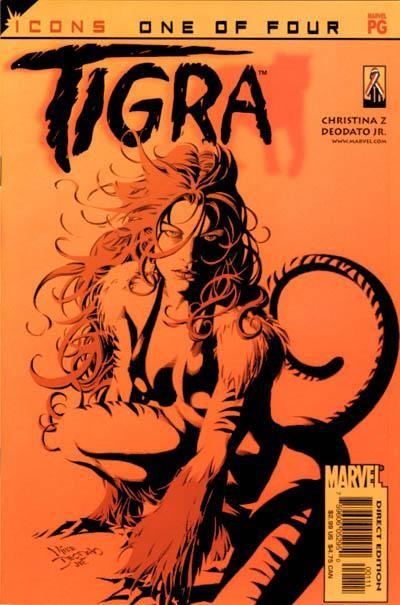 Couverture de Tigra (2002) -1- Deepest cuts