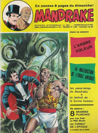 Couverture de Mandrake (1e Série - Remparts) (Mondes Mystérieux - 1) -387- L'arbre voleur