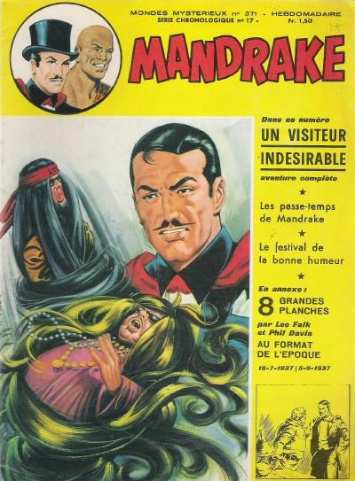 Couverture de Mandrake (1re Série - Remparts) (Mondes Mystérieux - 1) -371- Un visiteur indésirable