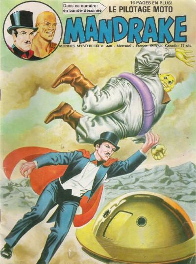 Couverture de Mandrake (1re Série - Remparts) (Mondes Mystérieux - 1) -440- Monsieur lourd