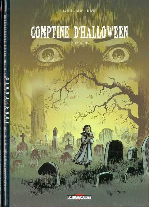 Couverture de Comptine d'Halloween -3- Révélations