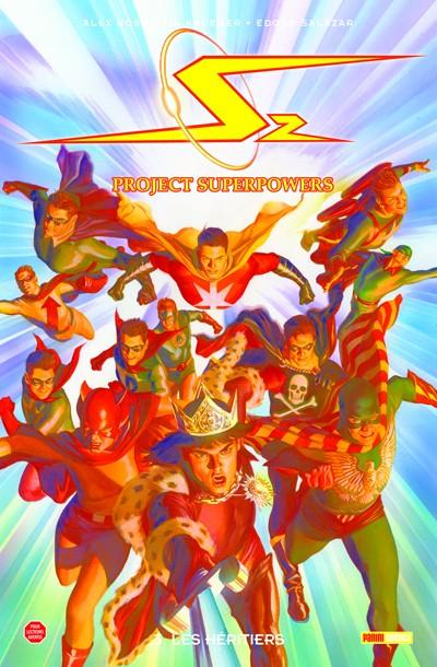Couverture de Project superpowers  -3- Les héritiers