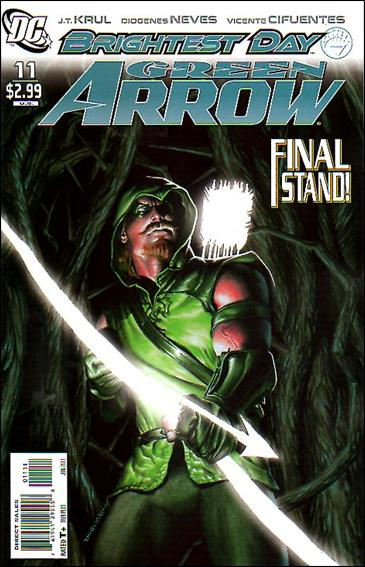 Couverture de Green Arrow (2010) -11- In the darkest hour