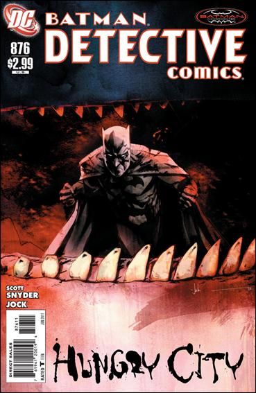 Couverture de Detective Comics (1937) -876- Hungry city part 1