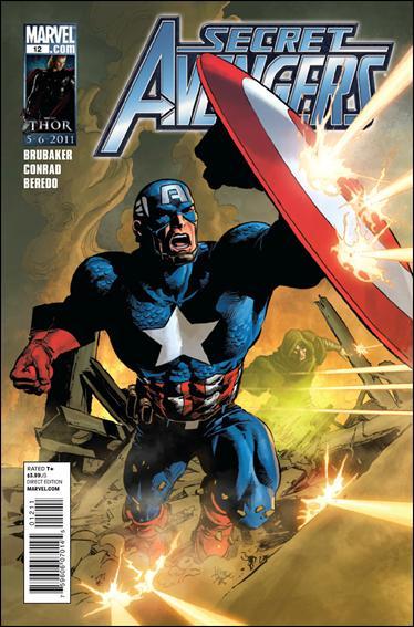 Couverture de Secret Avengers (2010) -12- The trouble with John Steele part 2