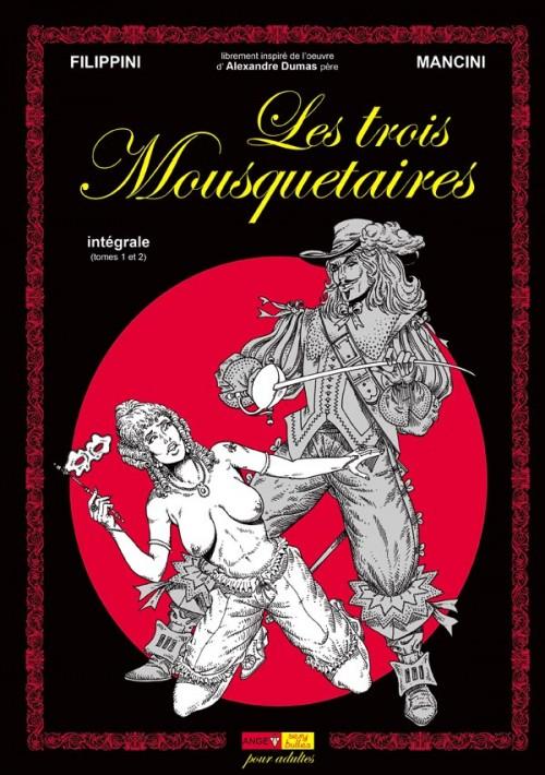 Couverture de Les trois Mousquetaires (Mancini) -INT- Intégrale (tomes 1 et 2)
