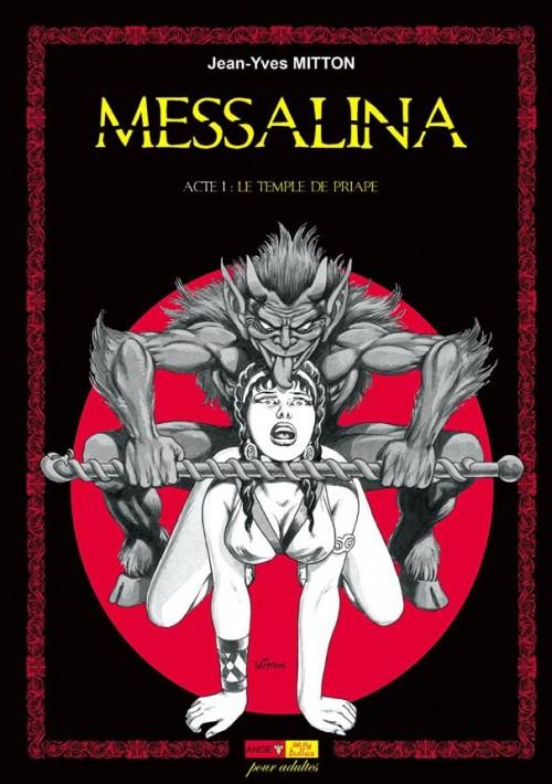 Couverture de Messalina -1- Acte I : Le temple de Priape