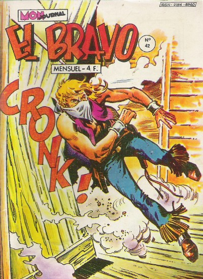 Couverture de El Bravo (Mon Journal) -42- Le ciel était rouge