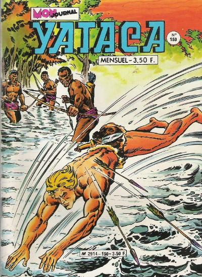 Couverture de Yataca (Fils-du-Soleil) -150- Alerte sur le Congo