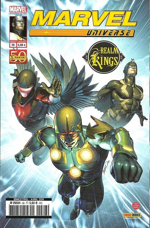 Couverture de Marvel Universe (Panini - 2007) -26- Realm of Kings (2/4)