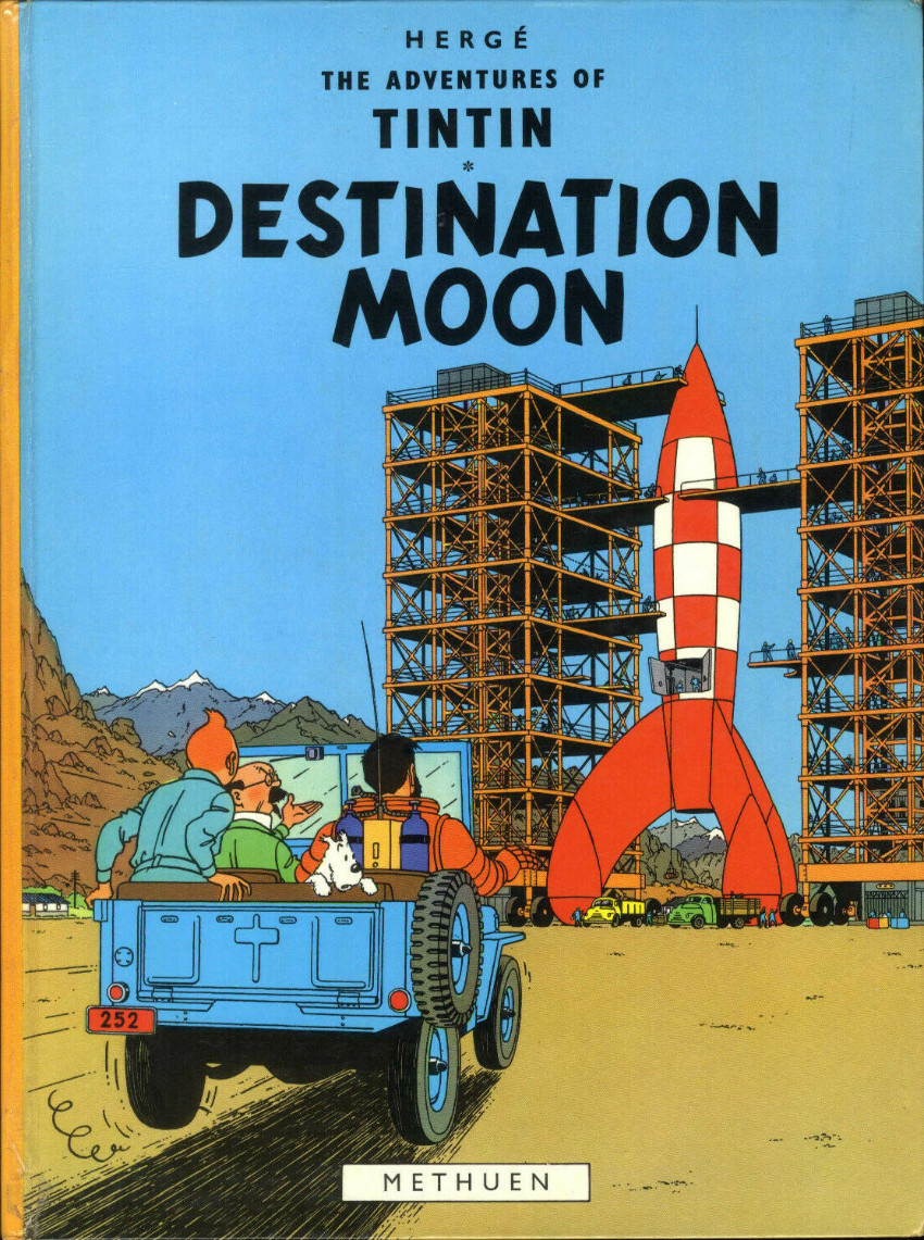 Couverture de Tintin (The Adventures of) -16- Destination Moon
