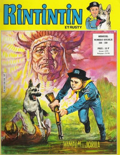 Couverture de Rin Tin Tin & Rusty (2e série) -158/159- Le Wampum du Jicarilla