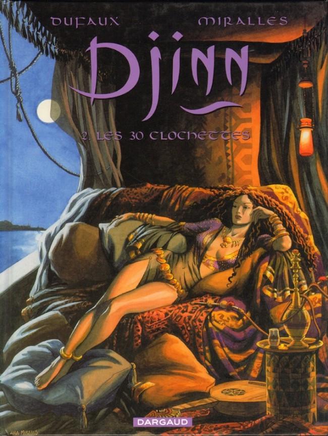 Couverture de Djinn (Dufaux/Mirallès) -2- Les 30 clochettes