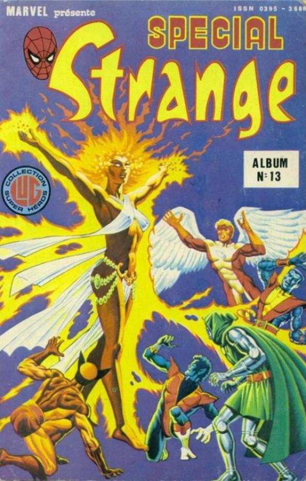 Couverture de Spécial Strange -Rec13- Album N°13 (du n°37 au n°39)