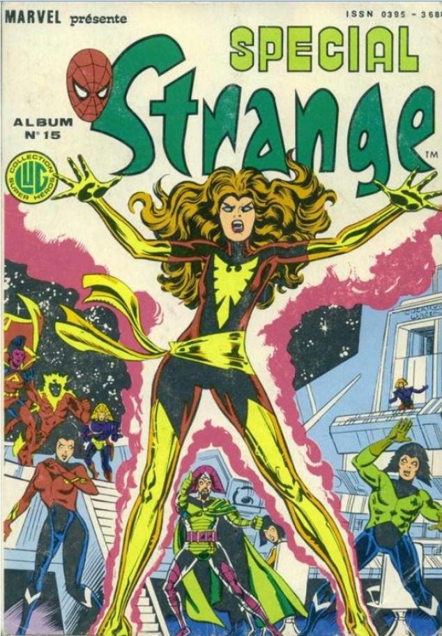 Couverture de Spécial Strange -Rec15- Album N°15 (du n°43 au n°45)