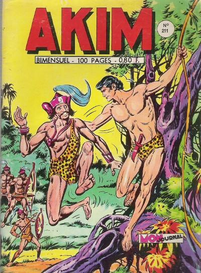 Couverture de Akim (1re série) -211- La vallée de la mort