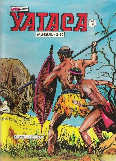 Couverture de Yataca (Fils-du-Soleil) -163- Les fils du lion