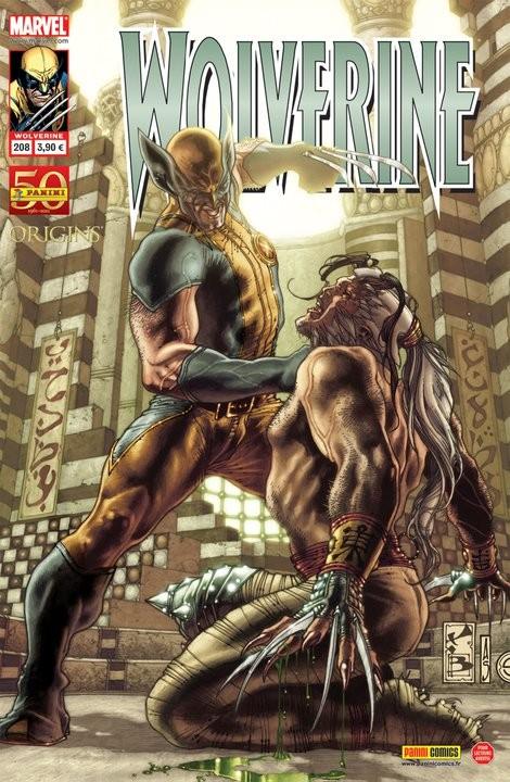 Couverture de Wolverine (Marvel France 1re série) (1997) -208- L'heure des comptes (3)