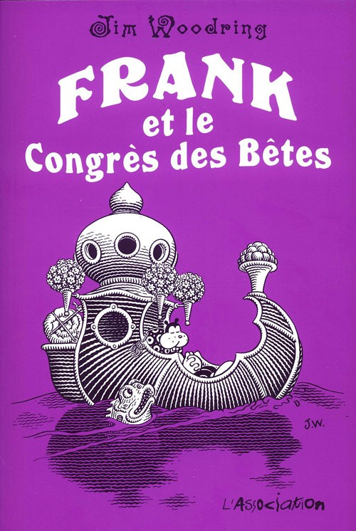 Couverture de Frank -5- Frank et le Congrès des Bêtes