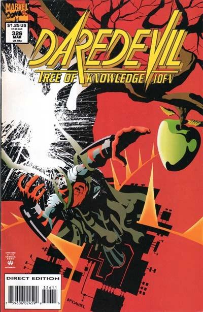 Couverture de Daredevil (1964) -326- Tree of knowledge