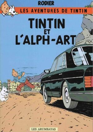 tintin alph art rodier