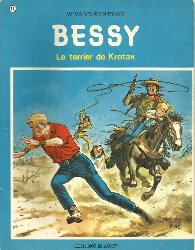 Couverture de Bessy -80a- Le terrier de Krotax