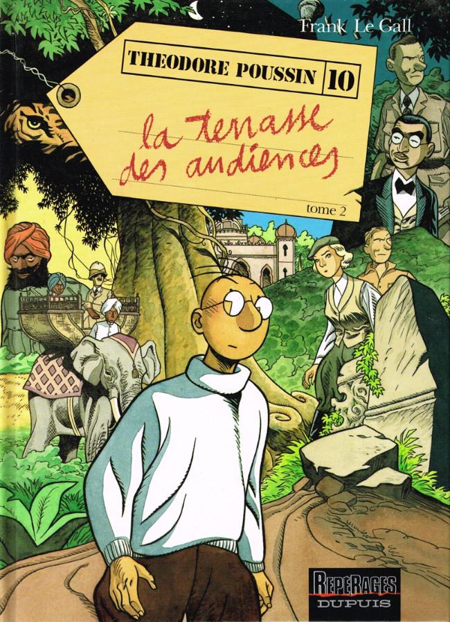 Couverture de Théodore Poussin -10- La Terrasse des Audiences - Tome 2