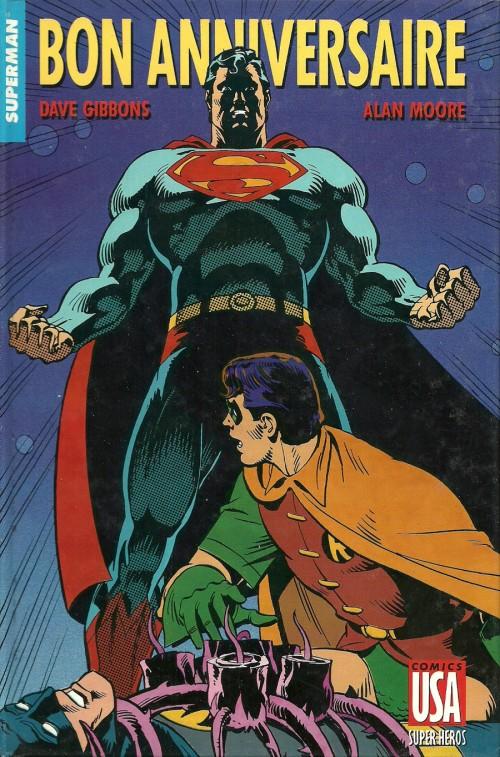 super h ros collection comics usa 10 superman bon anniversaire. Black Bedroom Furniture Sets. Home Design Ideas