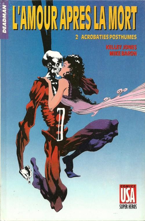 Couverture de Super Héros (Collection Comics USA) -42- Deadman : L'amour après la mort 2/2 - Acrobaties posthumes