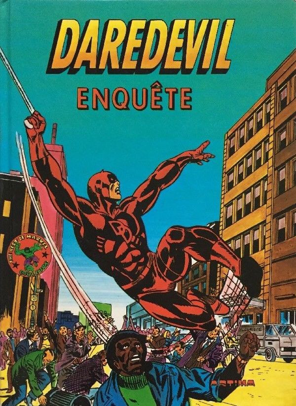 Couverture de Best of Marvel (The) (Collection) -7- Daredevil enquête