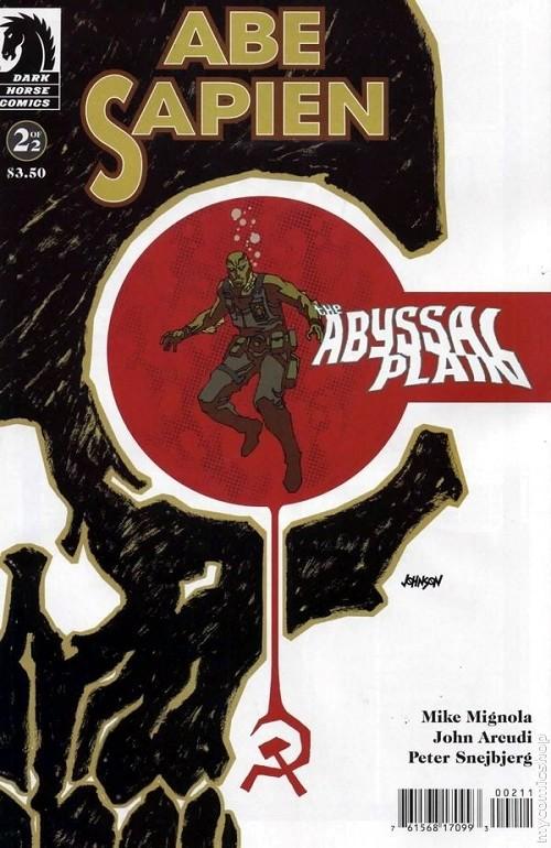 Couverture de Abe Sapien (2008) -8- The Abyssal Plains #2