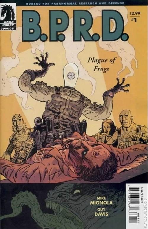 Couverture de B.P.R.D. (2003) -8- Plague of Frogs