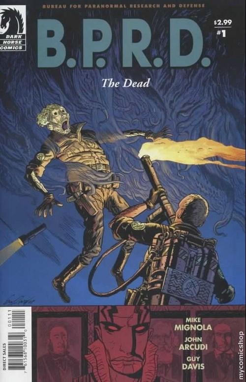 Couverture de B.P.R.D. (2003) -13- The dead